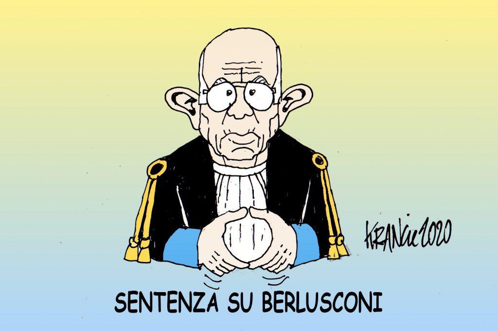 Sentenza su Berlusconi, Giudice Esposito